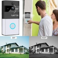 WiFi Smart Video Video Doorbell Wireless Visual Night VisionDoorbell Smart Home Intercom System Doorbell Wireless Doorbell Video