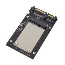 Mini mSATA SSD à 2.5 pouces SATA 22 broches convertisseur carte adaptateur pour Windows2000/XP/7/8/10/Vista Linux Mac 10 OS