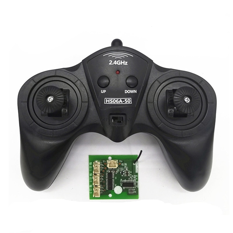 6CH 2.4G Remote Controller Power Transmitter Receiver Radio System For DIY RC Boat Cars 50M Controlling enlarge