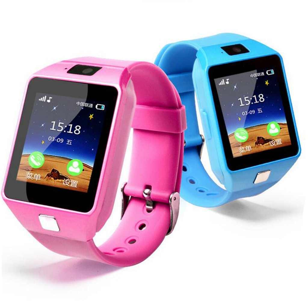 Kids Smart Watch GPS Wifi Ip67 Waterproof 650Mah Big Battery 1.44 Inch Display Camera Take Video Smartwatch Kids