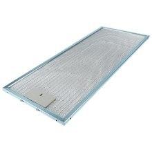 Filtr z siatki okapu kuchennego (metalowy filtr przeciwtłuszczowy) zamiennik dla Whirlpool 208341604401 PRF0041 1 sztuk