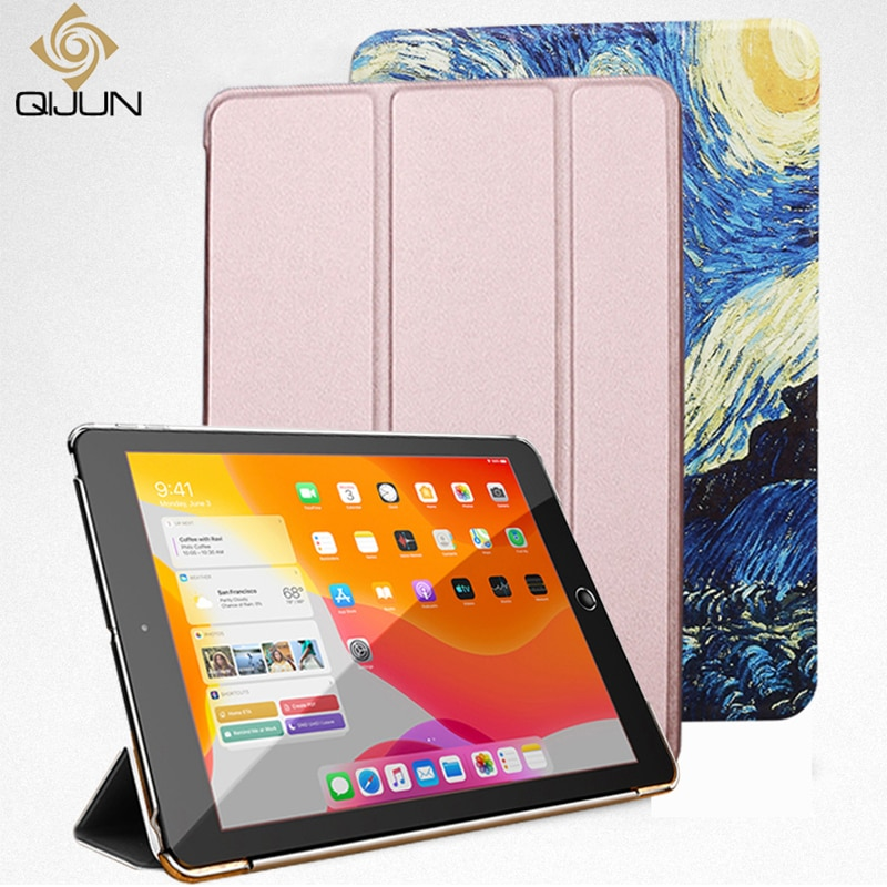 Case For Samsung Galaxy Tab A 8.0 (2019) T290 SM-T290 SM-T295 T297 Flip Trifold Stand Case PU Leathe