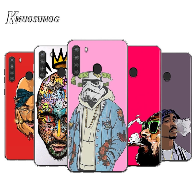 2Pac Tupac Shakur Super oferta para Samsung Galaxy A90 5G A80 A70S A70 A60 A50 A50S A30S A20 A20E A2Core A10S A10 A10E teléfono caso