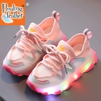 size 21 30 baby led shoes with light up sole for kids boys girls children glowing sneakers kids luminous sneakers toddler shoes