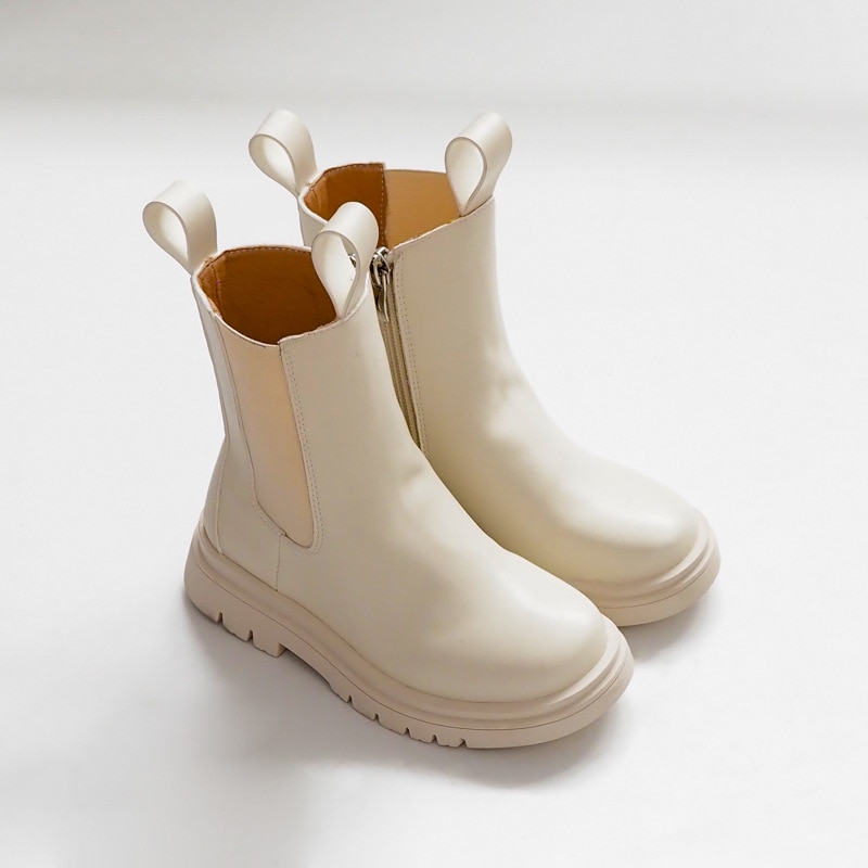 Children Chelsea Boots Kids Girls Martin Boots Casual Autumn Winter PU Leather School Boy Shoes Fash