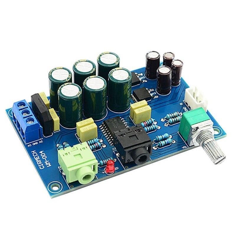 ¡Nuevo TPA6120 Amplificador de auriculares placa HIFI TPA6120A2 auriculares entusiastas Amplificador cero...