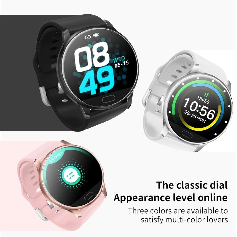 C198 reloj inteligente pantalla táctil impermeable salud pista de carreras semanal encontrar teléfono deportes Fitness Shake recordatorio pulsera