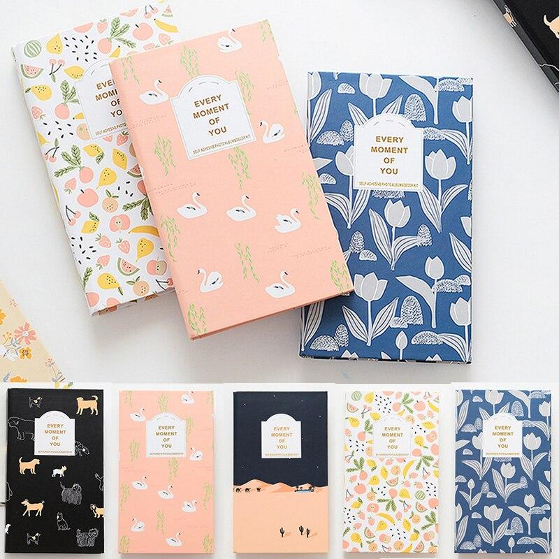 Creativo nuevo portátil 84 bolsillos tarjeta para álbum de fotos álbum Lomo tarjeta Photocard soporte para Polaroid Mini Película Caja de la foto de libro