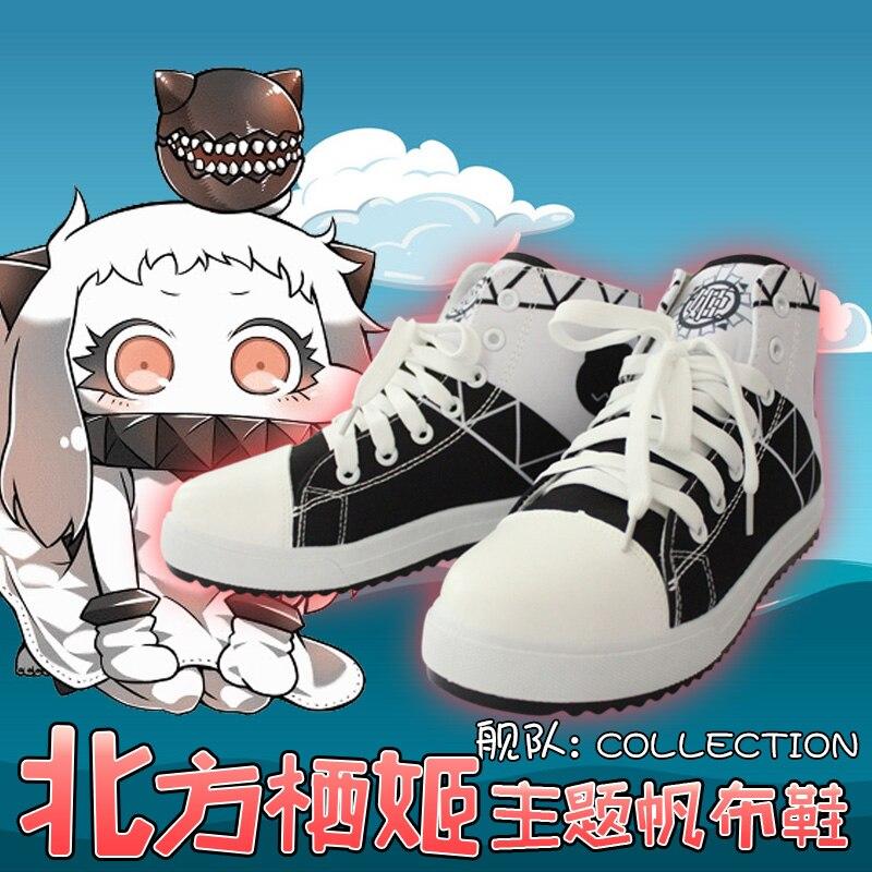 Spiel Sammlung Cosplay Anime Leinwand Schuhe Cos Fubuki Persönlichkeit Hohe Hilfe Unisex Schuhe Bequeme Schuhe