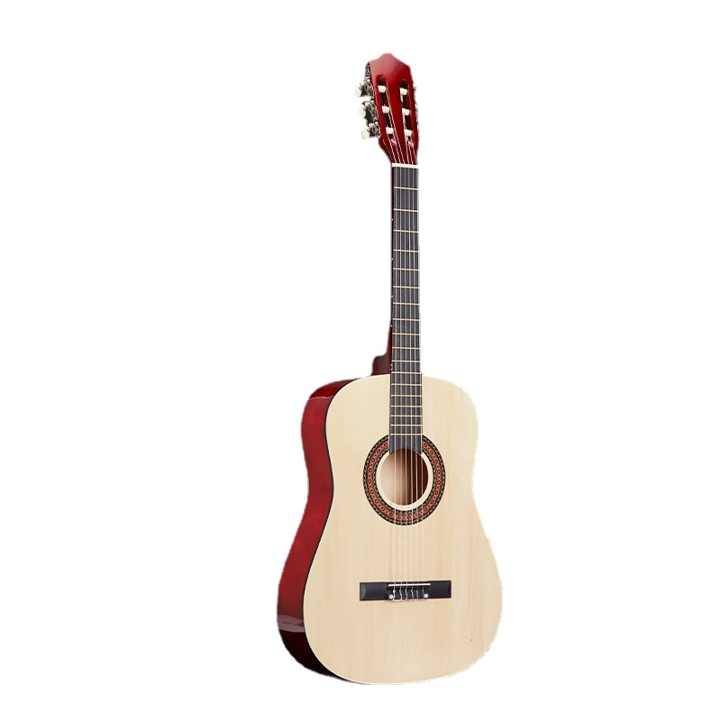 Classic Acoustic Guitar 6 Strings Solid Wood High Quality 38 Inch Vintage Guitar Semi Hollow Guitarra Musical Instruments DE50JT enlarge