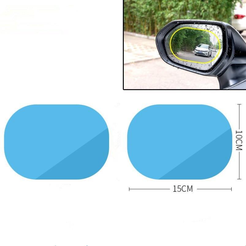 2Pcs Car Rearview Mirror Anti Water Film Sticker For Dodge Journey Juvc Charger Durango Cbliber Sxt Dart