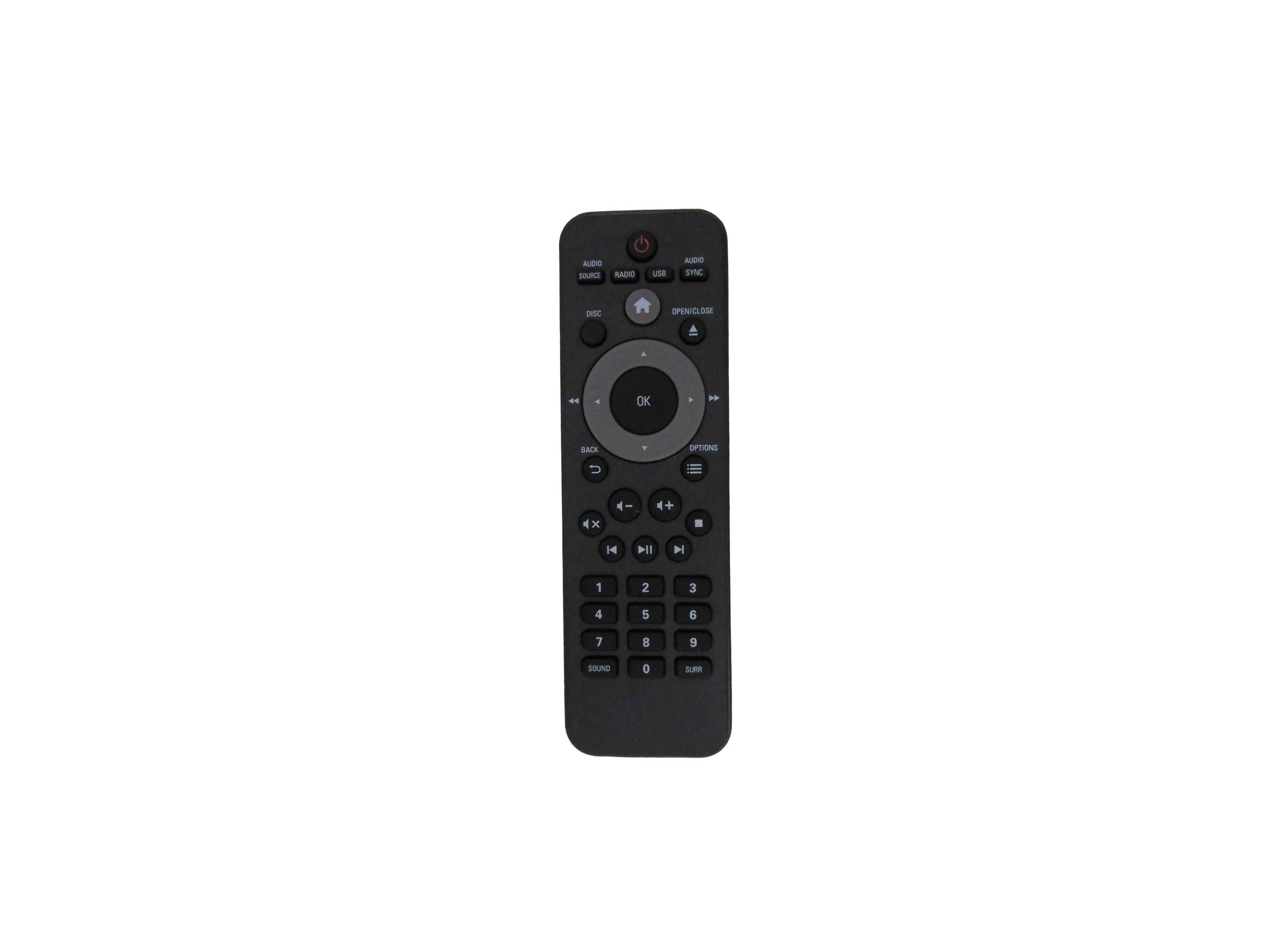 Control remoto para Philips HTD5510/55 HTD5510/94 HTD5570/12 HTD5570/51 HTD3540/12 HTD3540/93 HTD3540/98 DVD sistema de cine en casa