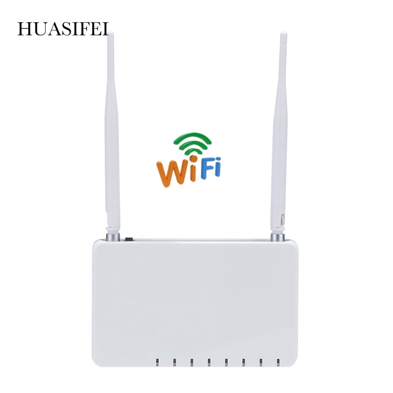 HUASIFEI 300Mbps Wireless WiFi Router 2.4Ghz With 4 External Antennas 802.11g External Signal Amplifier Repeater Access Point