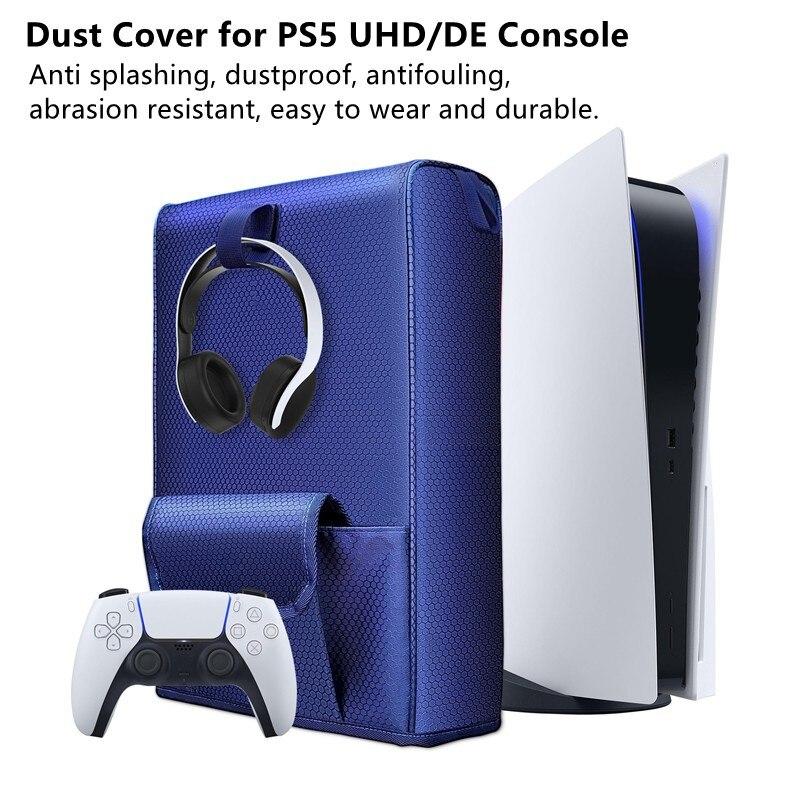 Многофункциональный Нейлон Пылезащитный чехол сумка для хранения Чехол Защитный чехол Чехол для PS5 Игровые наушники с контроллером карточ...