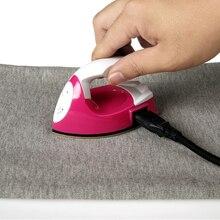 Mini eléctrico pequeño hierro eléctrico seco no vapor juguete especial hierro vapor hierro eléctrico para ropa hierro portátil de alta calidad