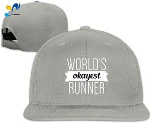 Yellowpods World's Okayest Runner Men's Relaxed Medium Profile Adjustable Baseball Cap