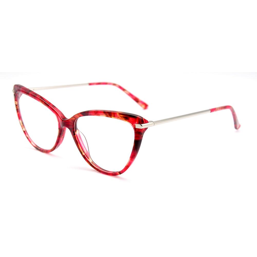 KANDREA 2020 Fashion Cat Eye Women Glasses Frame Clear Lens Spectacles Oversized Metal Eyeglasses Frames Classic Design  Eyewear fashion women men optical glasses frame round oversized eyeglasses frames metal spectacles clear lenses glasses