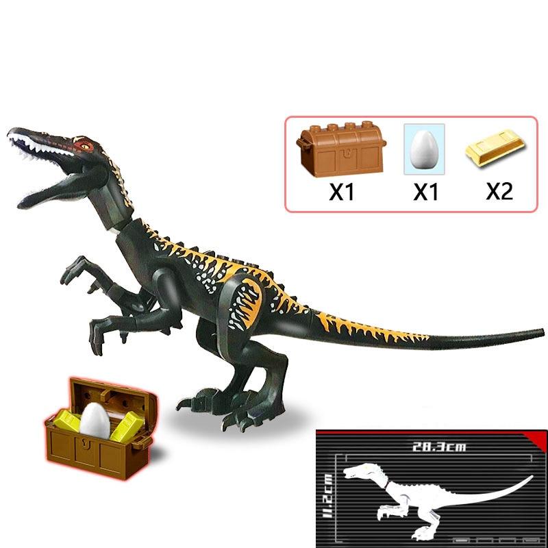 2020 Animal mundo dinosaurio Parque Baryonyx Mini dinosaurio huevos DIY modelo accesorios ladrillos juguetes regalos