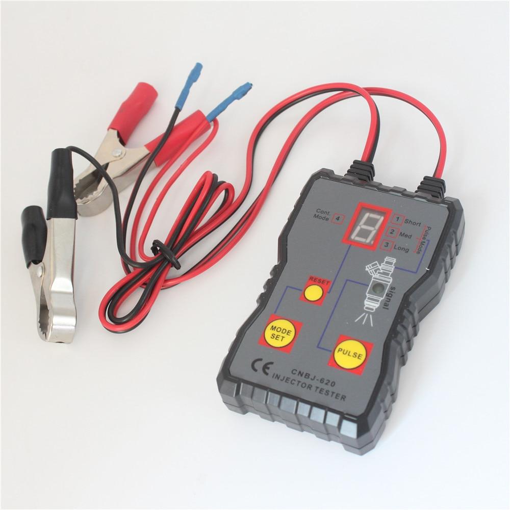 Fuel Pressure Tester Injector 4 Pluse Modes Powerful Pump System Diagnostics Analyzer CNBJ-620