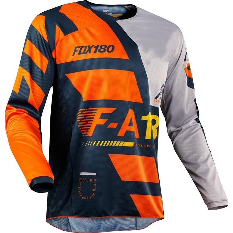 2021 Jersey para descensos Maillot Fox Maglia Mtb Enduro Ciclismo Jersey Hombre...