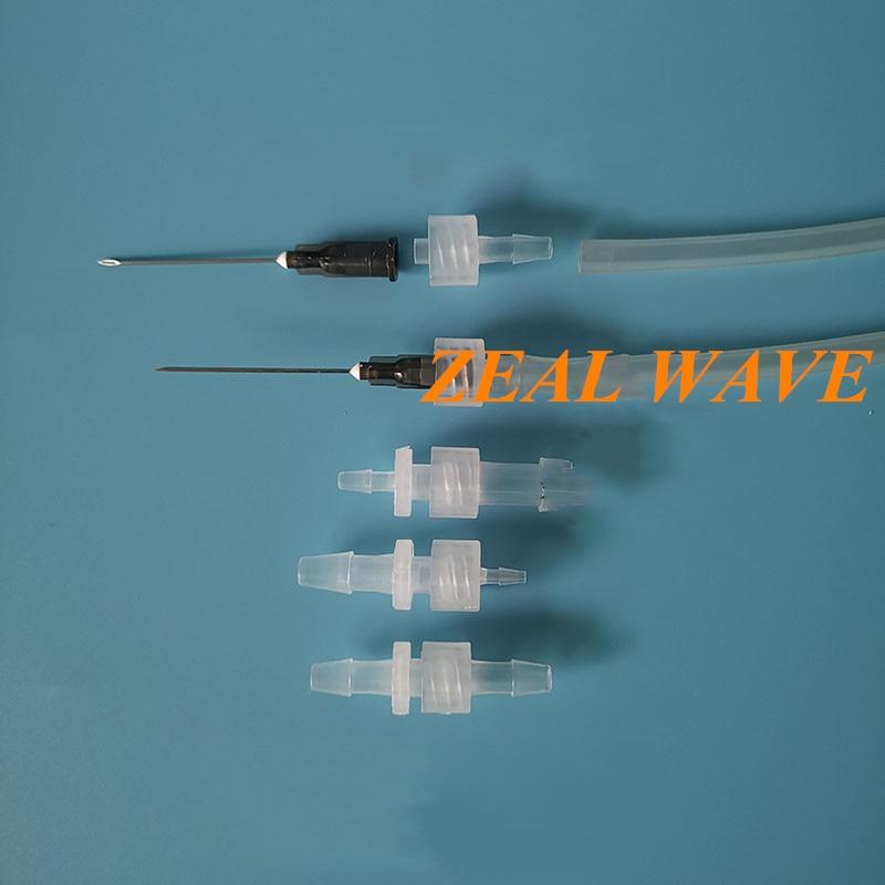 Luer موصل الجهاز الطبي معبد مستقيم الذكور والإناث خرطوم موصل مضخة تمعجية الداخلية والخارجية المسمار الفم PP