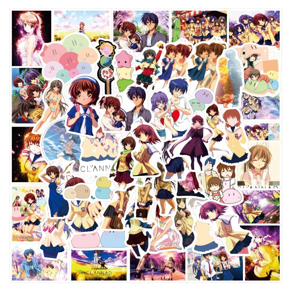 10/30/50PCS Cartoon Anime AFTER STORY Dumpling Big Family Graffiti Sticker Luggage Scooter Sticker Wholesale