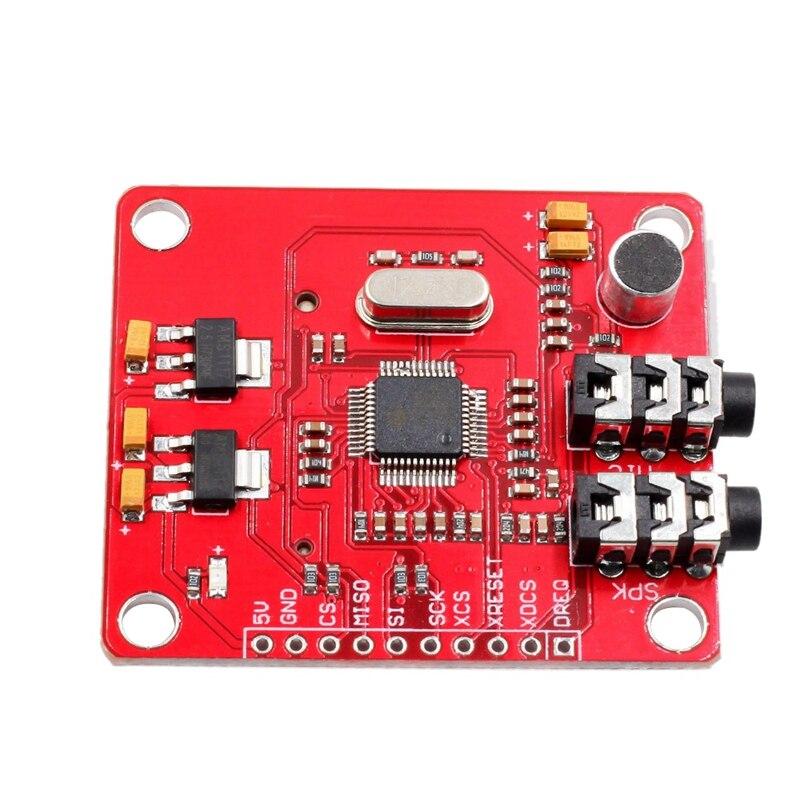 Vs1053 Vs1053B Mp3 модуль для Arduino Uno коммутационная плата с sd-картой Ogg Запись в реальном времени