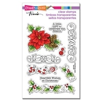 christmas flower clear stamps no cutting dies for diy scrapbook stamps album craft paper card embossed handmade stamps