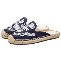 sandals womens shoes spring and summer leisure linen embroidered slippers women