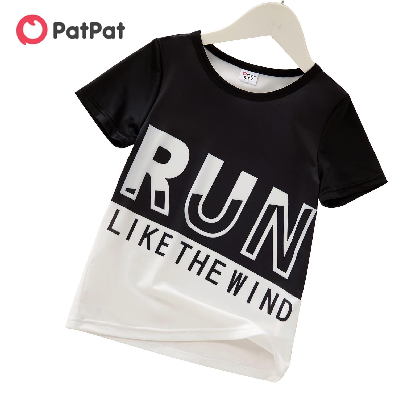 Летняя спортивная футболка с буквами для мальчиков, новинка 2021|Тройники| | АлиЭкспресс