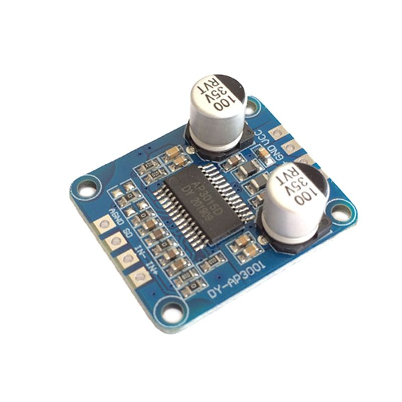 DY-AP3001  DC12V 2A 2x15W módulo amplificador Bluetooth Placa de Audio Digital amplificador de potencia de canal Clase D para Yamaha