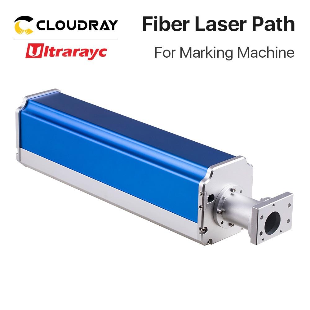 نظام وسم الألياف البصرية ، مسار الليزر الفائق ، أزرق وأحمر ، جزء لآلة وسم ليزر الألياف