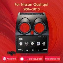 Lecteur dautoradio Android 10 pour Nissan Qashqai 2006 2007 2008 2009 2010 2011 2012 2013 AutoRadio Navigation GPS 2 Din multimédia