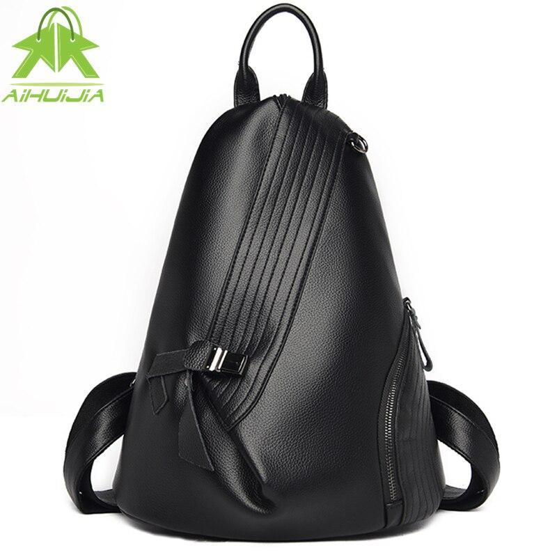 حقيبة ظهر جلدية عالية الجودة للنساء ، حقيبة كتف ، حقيبة سفر متعددة الوظائف ، حقيبة مدرسية للبنات ، مجموعة جديدة 2021