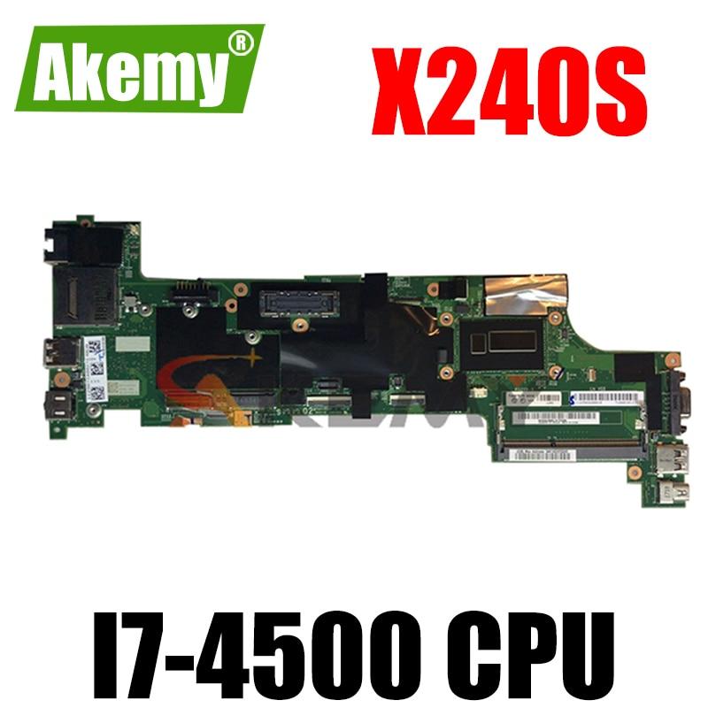 Thinkpad مناسبة للوحة الأم للكمبيوتر X240S I7-4500. 04X3860 04X3861 04X3855 00HM938 00HM939