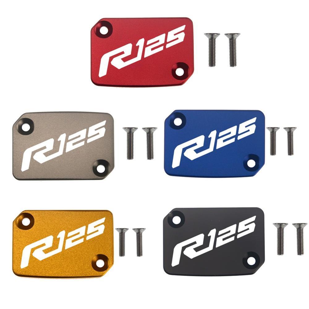 Para cilindro principal de freno delantero cubierta de Depósito tapa accesorios de motocicleta para YAMAHA YZF R125 YZFR125 2018-2019