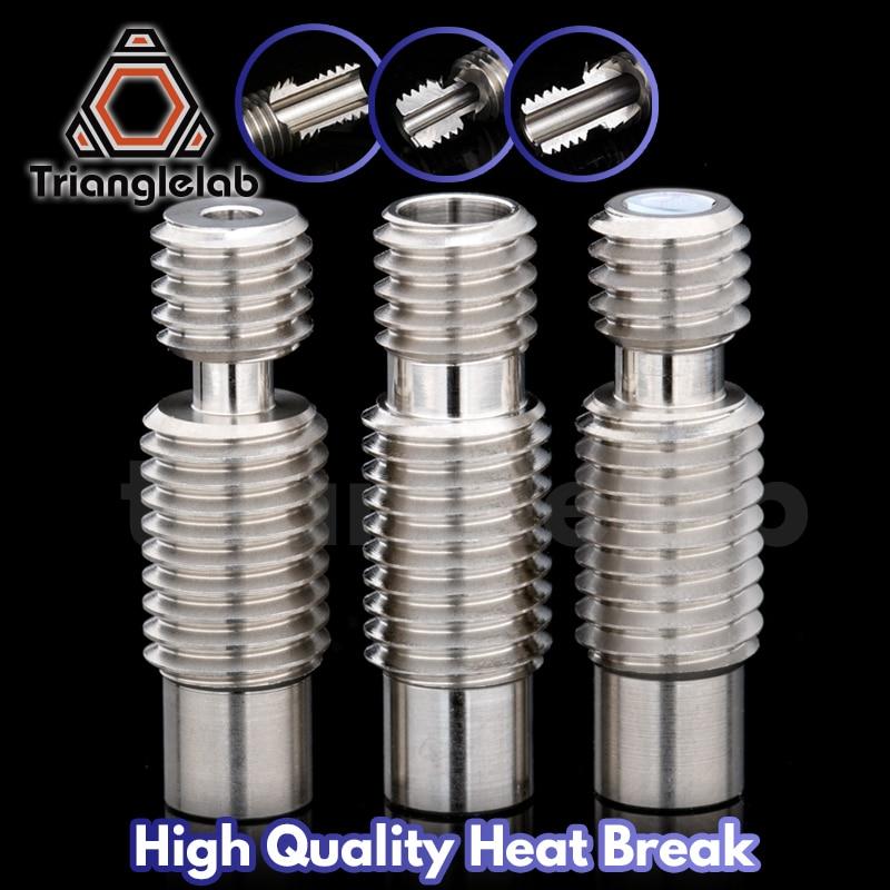 aliexpress.com - 1PC high quality Heatbreak heat break for V6 HOTEND Vocano heater block 1.75MM Filament Remote Feeding 3D printer accessories