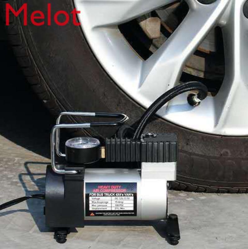 Car Vehicle Tire Inflator Fast Portable Car Tire High Pressure Air Pump Small Electric Air Pump