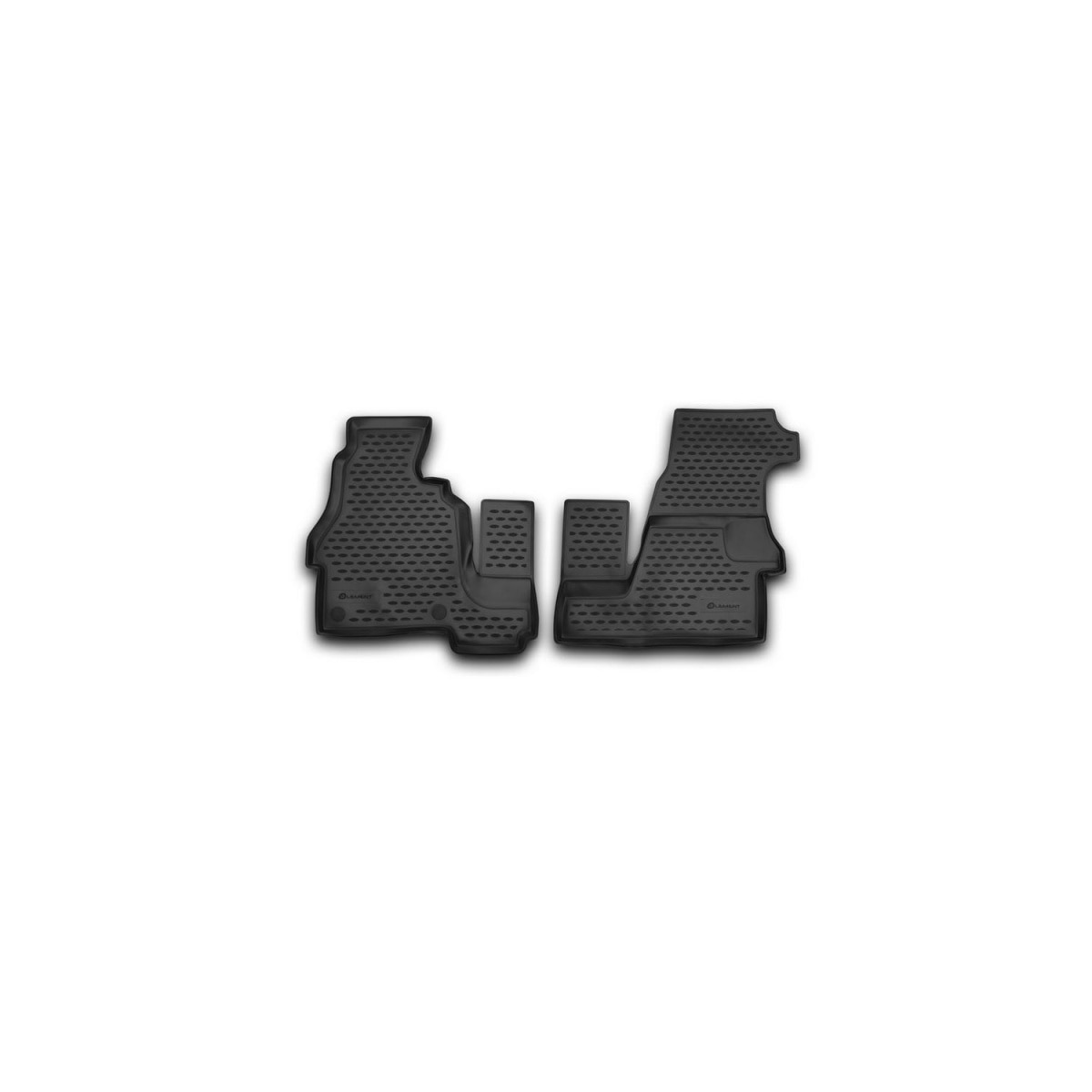 Tapis de sol mercedes-benz Sprinter Classic, 2013-2 pièces (PolyU