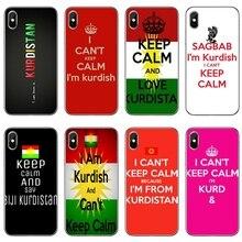 Phone Case For Samsung Galaxy S10E S10 Lite S9 S8 S7 S6 edge Plus S5 S4 S3 Mini Note 10 9 8 5 4 I CanT Keep Calm IM Kurdish