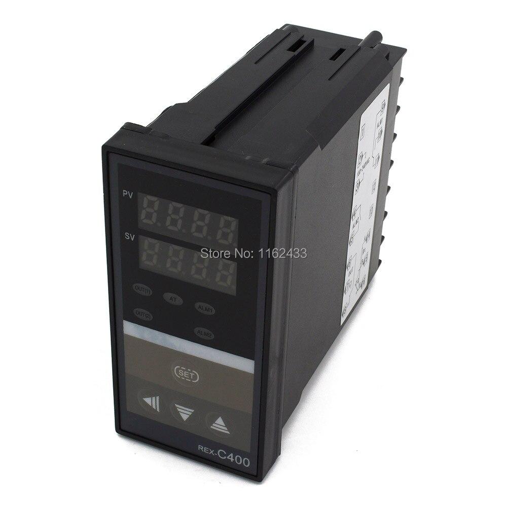 REX-C400 термопары RTD вход цифровой pid регулятор температуры реле SSR 4-20mA SCR выход