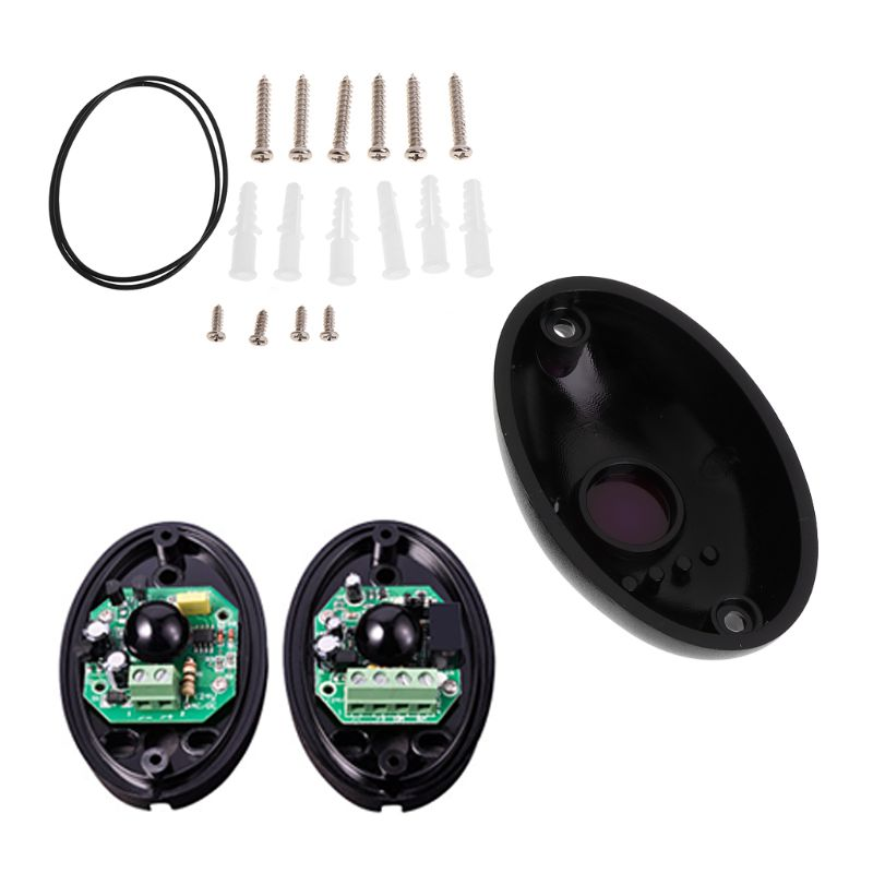 new arrival infrared detector intrusion alarmburglar alarm abt 150 photoelectric dual beam perimeter fence window outdoor CPDD 1 Pair Beam Photoelectric Infrared Detector Alarm Barrier Sensor Gate Door Window Home Security System