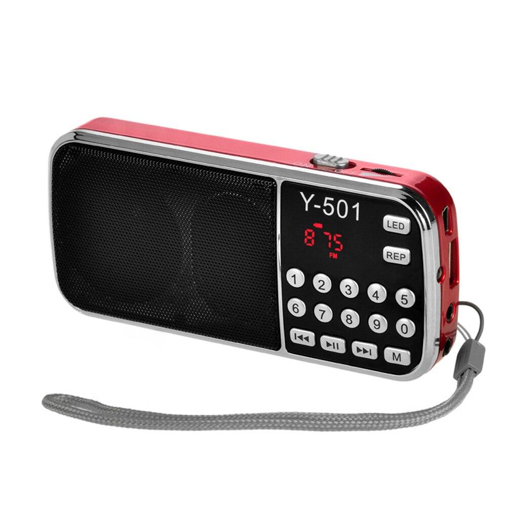 Mini portatif radyo bolso pessoal handheld digital estéreo rádio fm mini rádio recarregável alto-falante fm usb tf mp3 player alto-falante