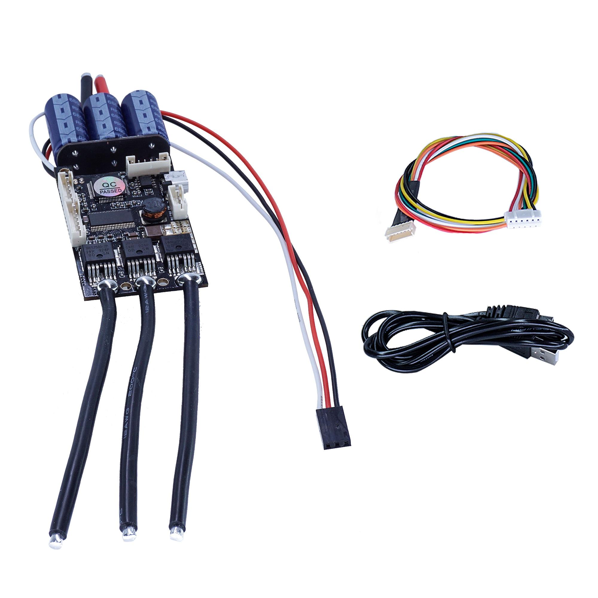 Skateboard Speed Controller FSESC 4.12 50A Based on VESC® 4.12 Remote Control Accessories Outdoor ESC 48v Electric Longboard enlarge