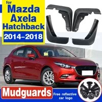 set car mud flaps for mazda 3 bm axela hatch hatchback 2014 2016 2017 2018 mudflaps splash guards mud flap mudguards fender