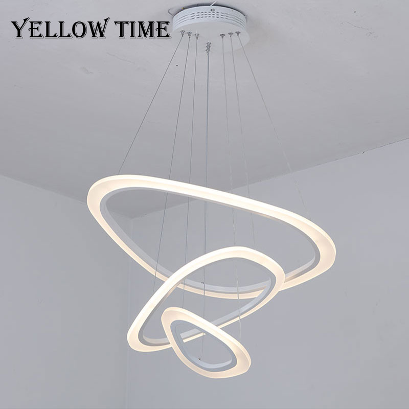 Acrylic Pendant Light Modern LED Home Hanging Lamp For Living room Bedroom Dining room Office Chandelier Lighting Pendant Lamps