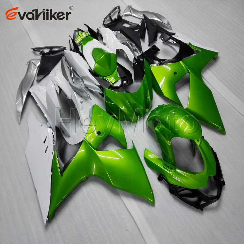 Carène en plastique ABS personnalisé   Pour GSXR1000 K9 2009-2016 2010 2011 2012 2013 2014 + 5 cadeaux, moule dinjection vert peint