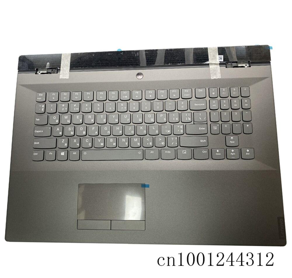 RU جديد الأصلي لينوفو فيلق Y740-17IRH Y740-17IRHg Palmrest لوحة المفاتيح الحافة لوحة اللمس الخلفية 5CB0S16484