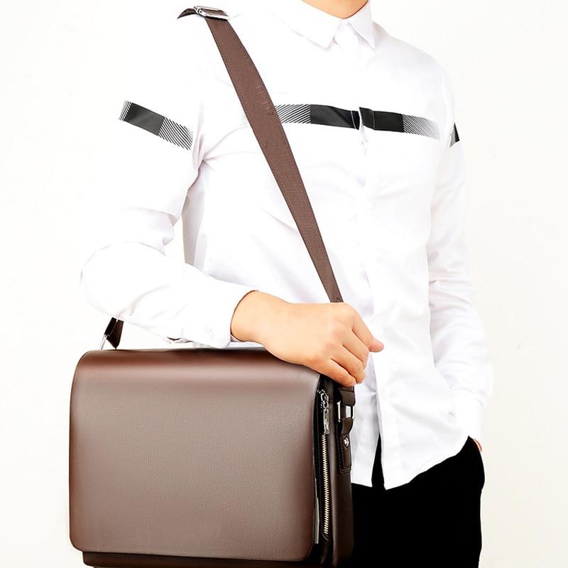 New Fashion Mens Messenger Bag Shoulder Multifunctional Casual Handbag Large Capacity