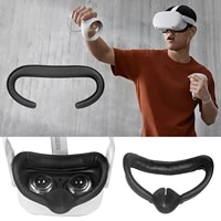 padding cushion face cover for oculus quest 2 quest2 accessories smart 3d virtual reality vr glasses headset helmet occulus set
